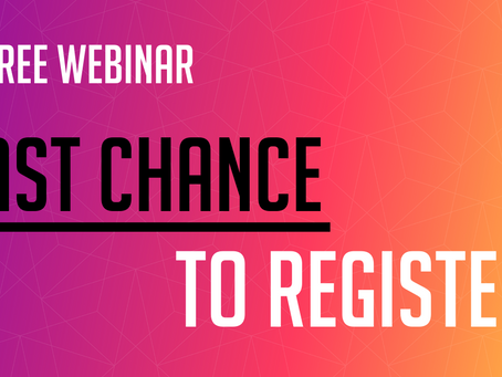 Micro Force-Velosio - Last Chance to Register for Upcoming Free Webinars!