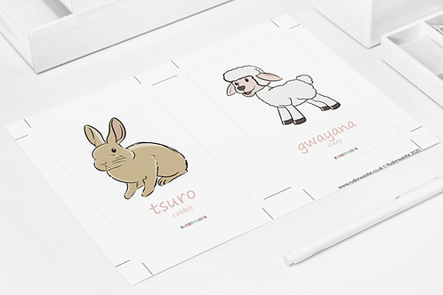 SHONA   Animals Printable
