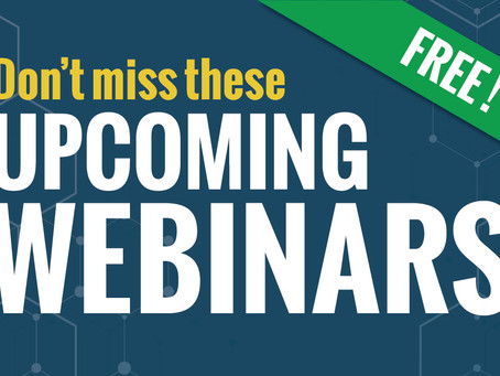 Micro Force-Velosio - Register Now for Our Upcoming Free Webinars!
