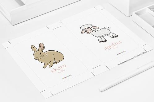 YORUBA | Animals Printable