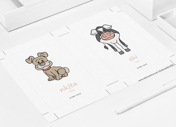 IGBO   Animals Printable