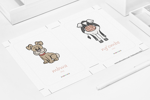 SWAHILI | Animals Printable