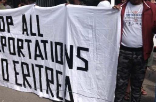 """""""Demo: Eritrea ist eine Diktatur, kein Staat für Migrationspartnerschaften"""""""