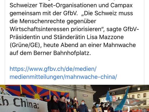 Menschenrechtstag: Mahnwache China