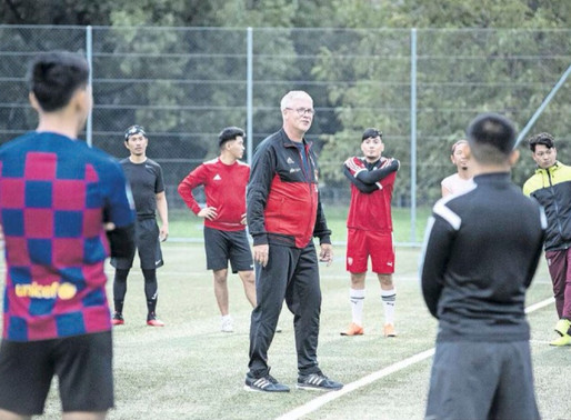 """Das Team gibt den Flüchtlingen Hoffnung"""