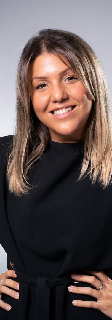 16 -Headshot corporate woman white backg