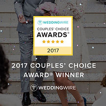 """2017 WeddingWire's """"Couples' Choice Award"""" Winner - Taste Of The Best Catering"""