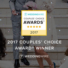 "2017 WeddingWire's ""Couples' Choice Award"" Winner - Taste Of The Best Catering"
