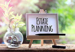 Estate Planning - business concept words