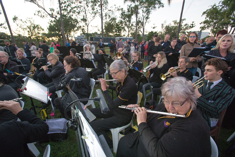 ANZAC Day 2017 band