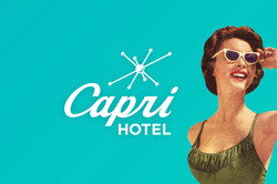 Capri Hotel Advertisement