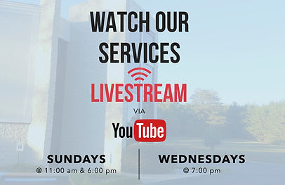 watch our services livestream via youtub
