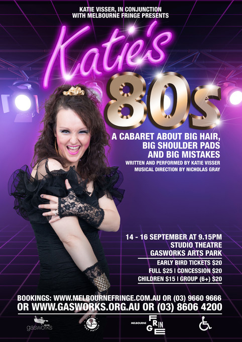 Katie's 80s returns to the stage as part of Melbourne Fringe