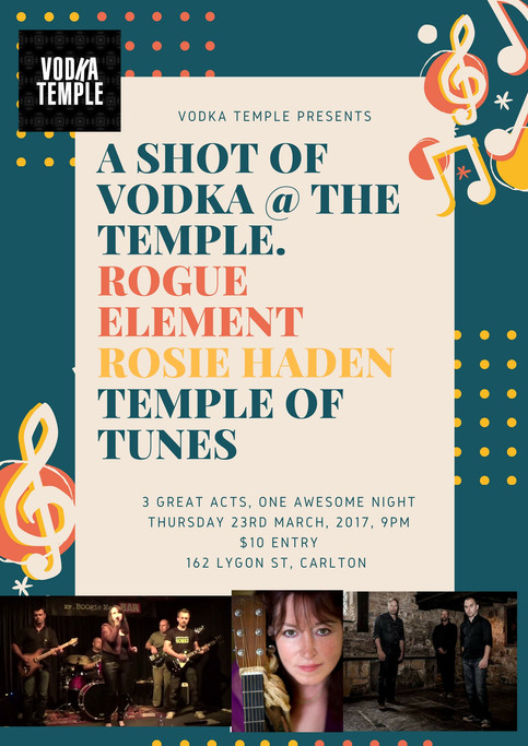 Rogue Element at the Vodka Temple