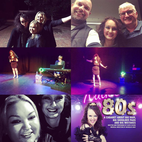 Katie's 80s finishes with laugher and tears