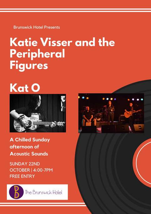 Katie Visser and the Peripheral Figures to perform from Belgrave to Brunswick