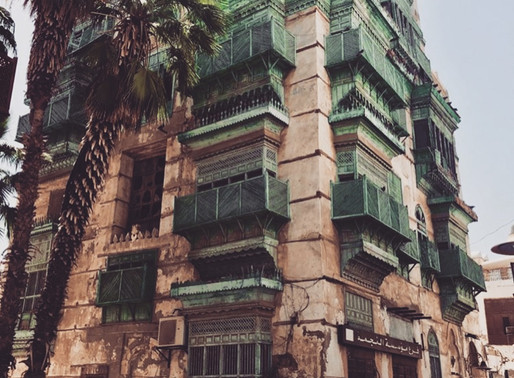 JEDDAH: Facade Gazing in The Western Beauty's Old Town