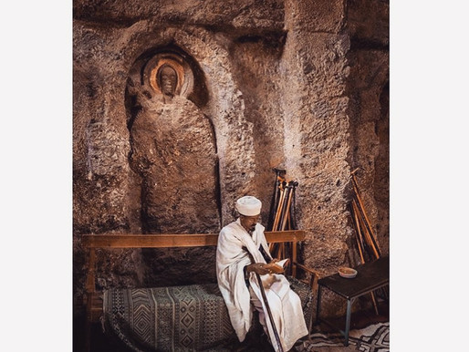 THE 11 MONOLITHIC CHURCHES OF LALIBELA, ETHIOPIA