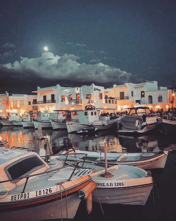 Naoussa, Greece port