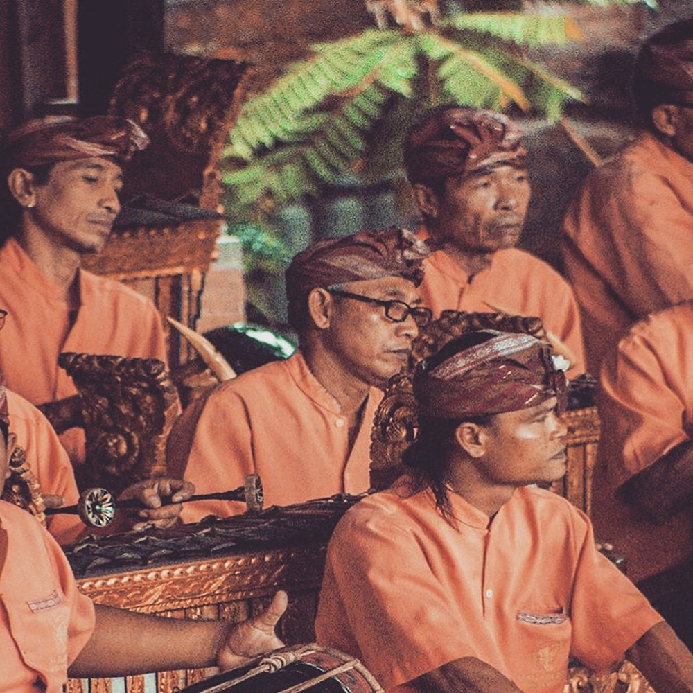 Balinese traditional music band