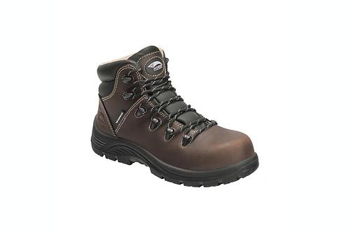 Ladies Framer Composite Toe Waterproof Boots - Brown