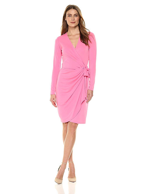 Classic Wrap Dress - Vivid Poppy