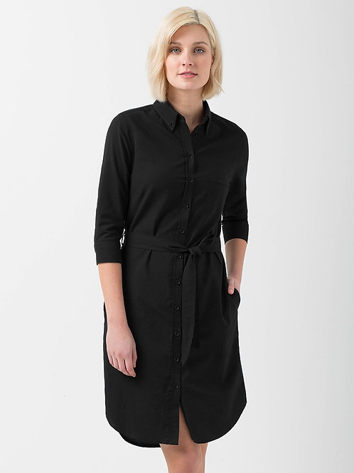 Oxford Shirtdress - Black