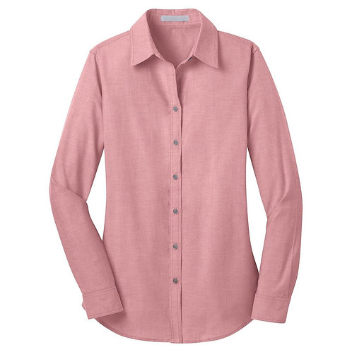 Ladies' Barn Red Chambray