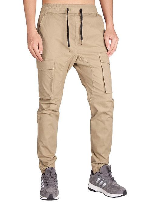 Chino Jogger Cargo Pants