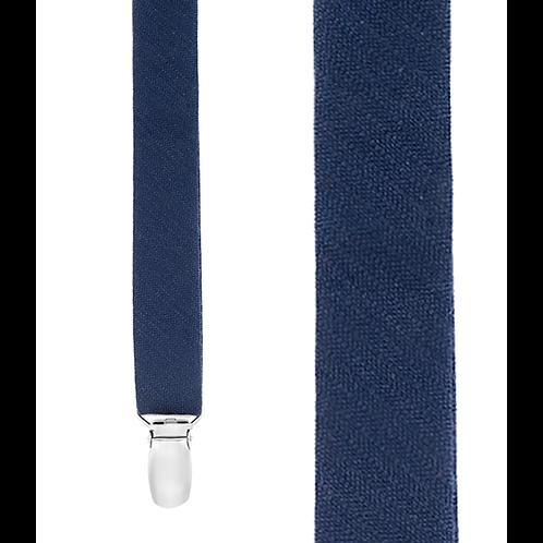 Astute Suspenders - Navy