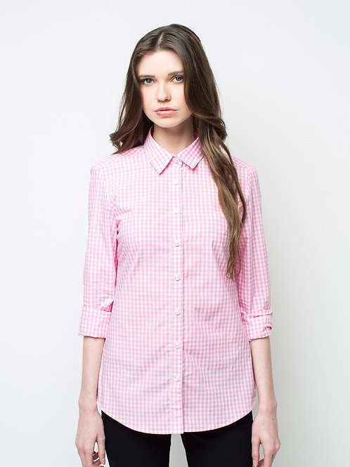 Frankie Long Sleeve Shirt - Pink