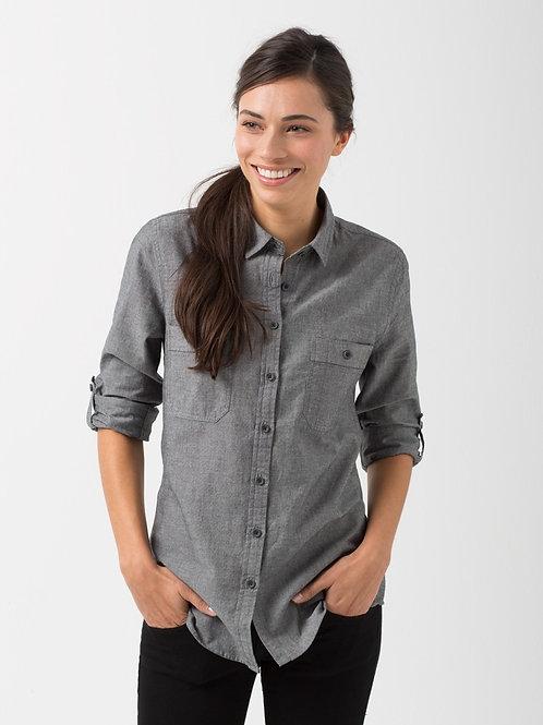 Rex Utility Long Sleeve Shirt - Charcoal