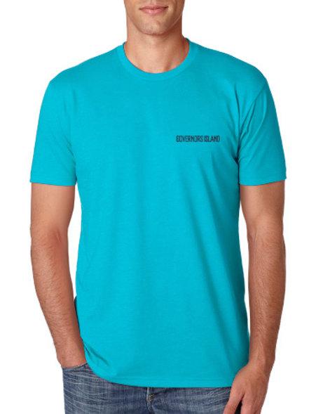 Volunteer T-Shirt - Cyan