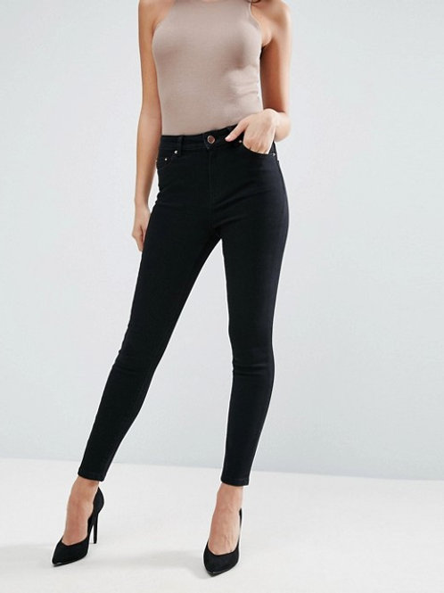 Hoxton Denim Pants - Black