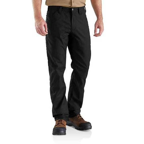 Rugged Relaxed Fit Pant - Black