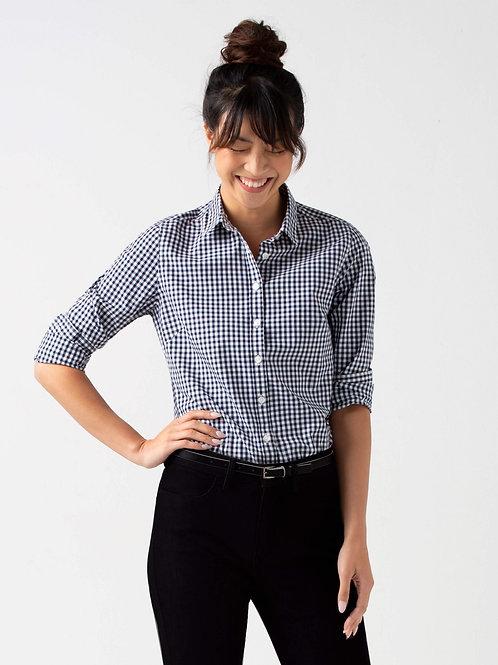 Frankie Long Sleeve Shirt - Navy