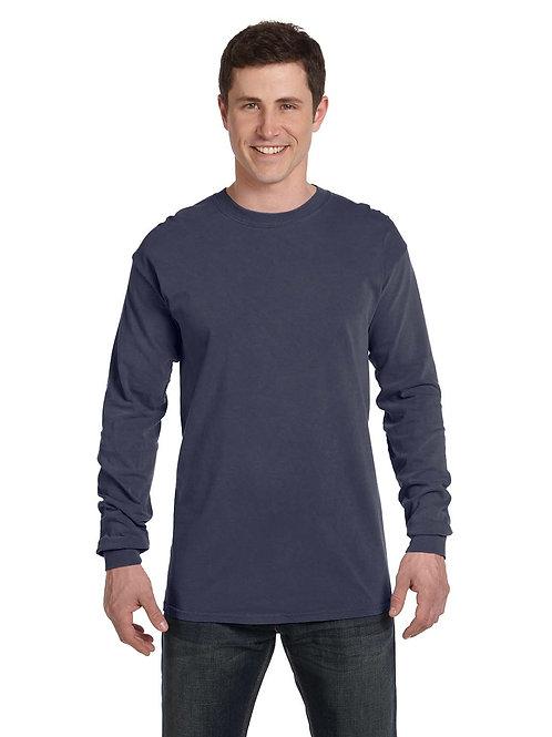Heavyweight Long-Sleeve T-Shirt - Denim