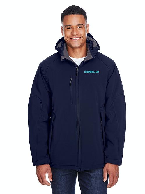 Gents Glacier Insulated Soft Shell Jacket - Classic Navy