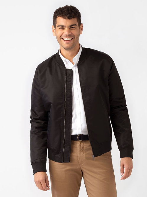 Benji Bomber Jacket - Black