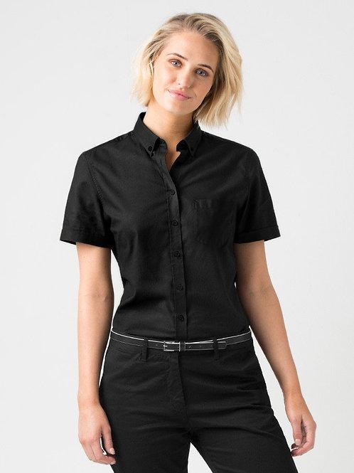 Oxford Short Sleeve - Black