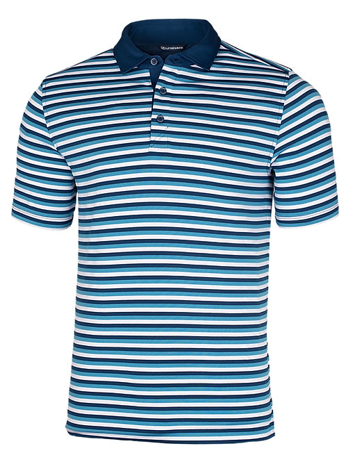 Gents Forge Polo Multi Stripe - Chambers