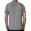 Thumbnail: Loose-fit Striped T-Shirt - Navy/White