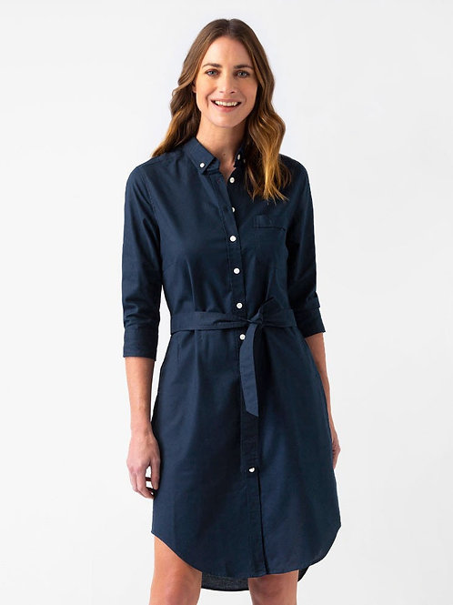 Oxford Shirtdress - Navy