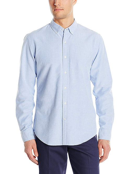 Solid Oxford - Blue