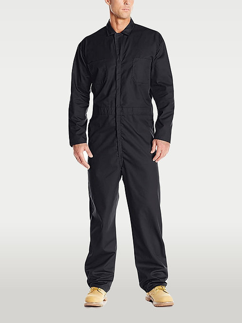 Long-Sleeve Coverall - Black