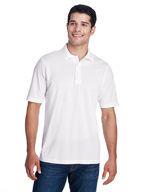 Dry Fit Polo - White