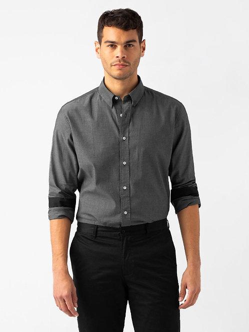 Jack Long Sleeve Shirt - Charcoal
