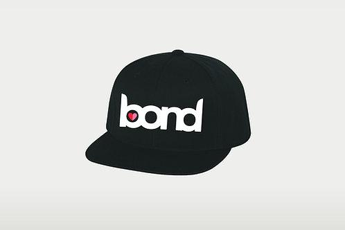 Snap Closure Hat - Black