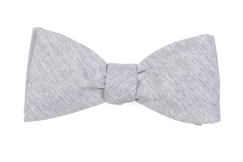 Sunset Solid Bow Tie - Grey
