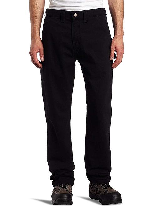 Hoxton Washed Twill Carpenter Pant - Black